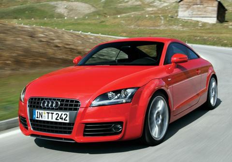 Red Audi TT