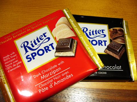 リッタースポーツチョコレート