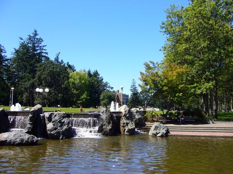 uvic fountain
