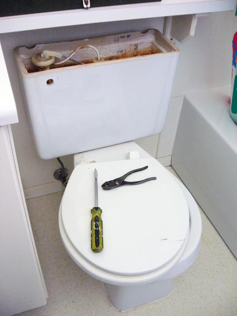 トイレ交換DIY