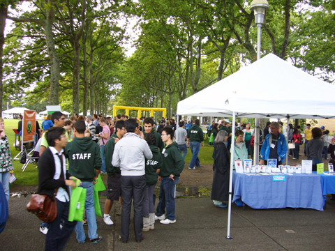 Uvic welcome event 2010