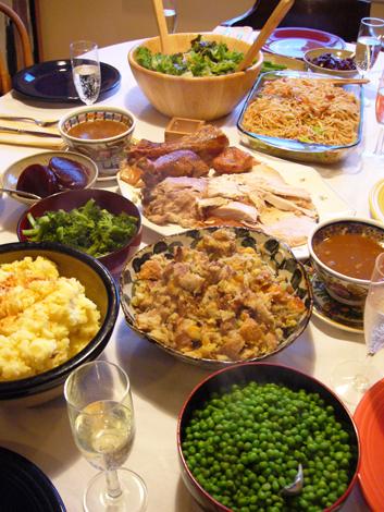 感謝祭の夕食