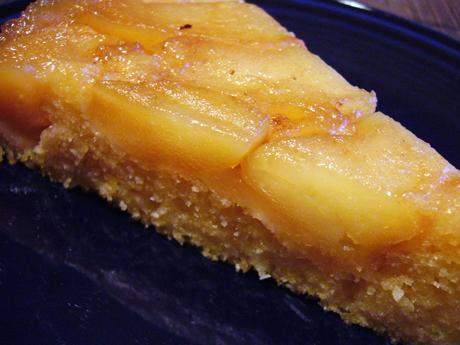リンゴのアプサイドダウンケーキ