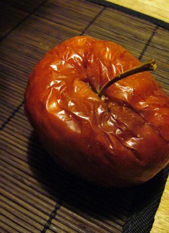 老いたリンゴ