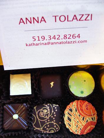 anna tolazzi chocolates