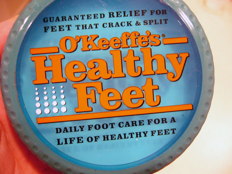 o'keefe's healthy feet