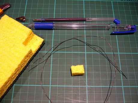 iPod タッチペン作り方