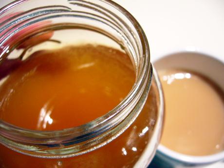 紅茶と蜂蜜