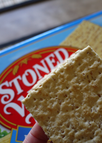 stone wheat cracker