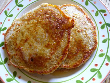 スペルト小麦のパンケーキ