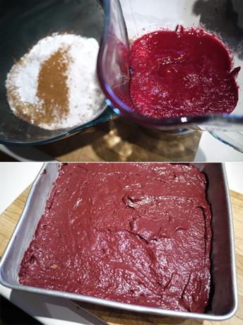 ビーツのチョコレートケーキ