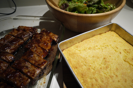 Braue's Golden Southern Corn Bread
