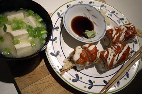 お寿司のよる