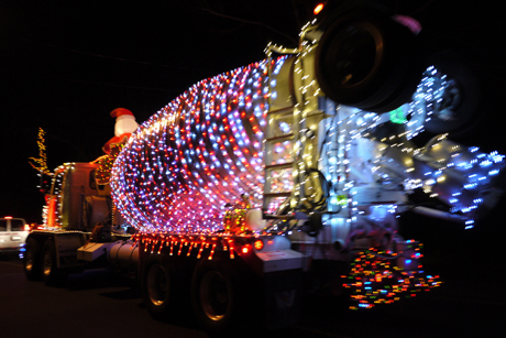 2011 lighted truck parade