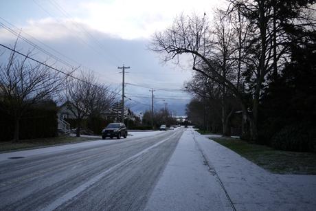 2012 初雪