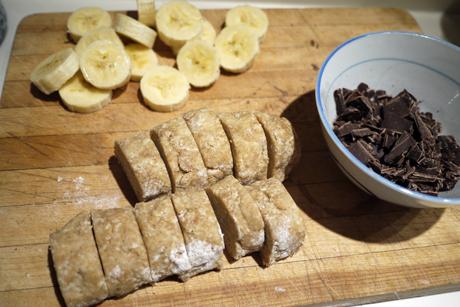 ひとくちバナナシナモンパイ