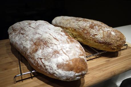 捏ねないパン