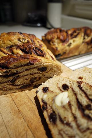 シナモンうずまきパン