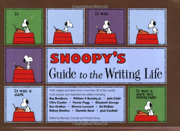 Snoopy's Guide to the Writing Life